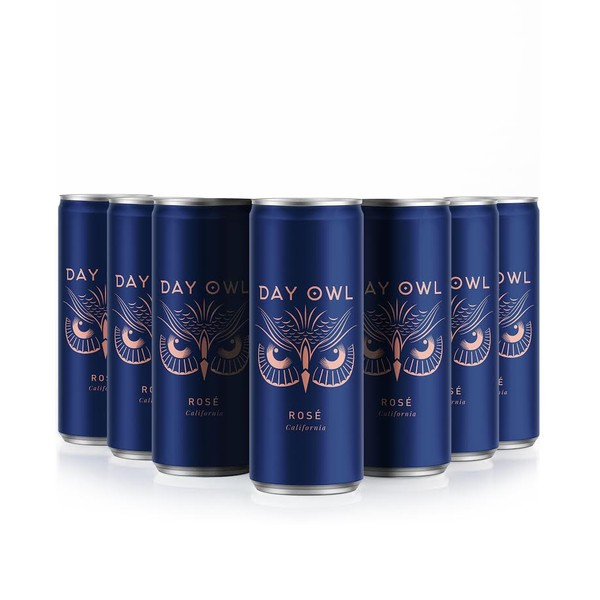 DAY OWL ROSÉ CANS 12 PACK